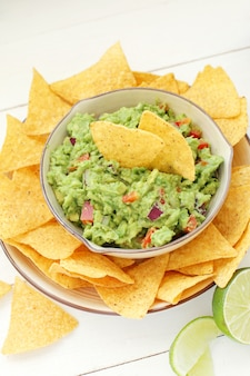 Trempette au guacamole
