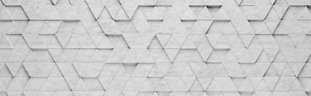 Triangles gris de fond 3d