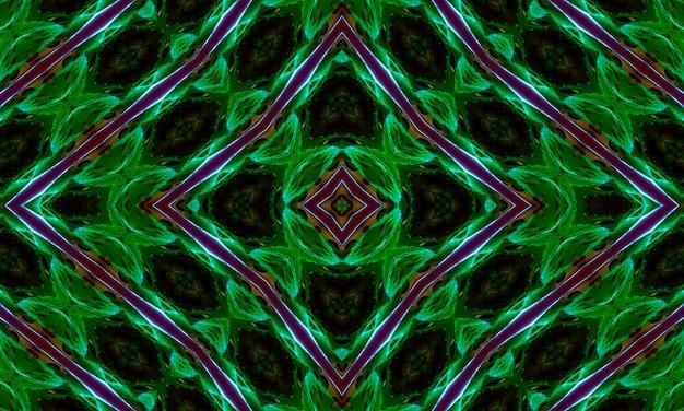 Tribal ethnique arabe, indien, ornement patern turc. fond oriental traditionnel dans les couleurs marron, bordo et vert. modèle sans couture avec la géométrie préexistante dans le dessin.