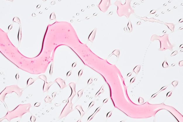 Trickle d'eau rose