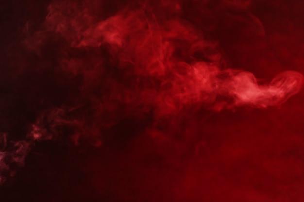 Trickles de fumée rouge