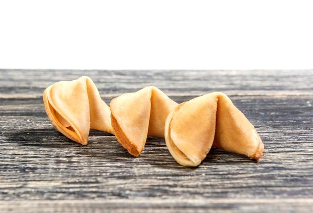 Trois des biscuits de fortune