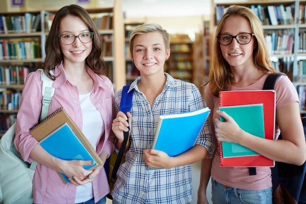 Trois étudiants