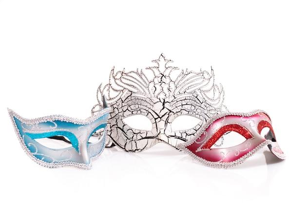 Trois masques vénitiens