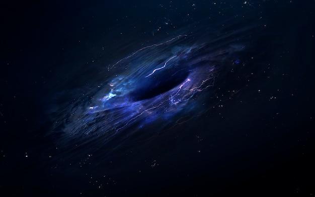 Trou de ver dans l'espace