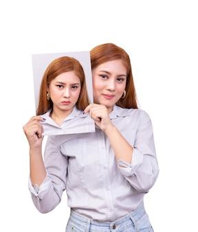 Trouble bipolaire chez une femme asiatique