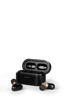 True wireless earbud design portable