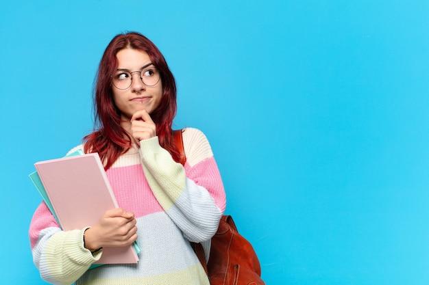Tty étudiante femme