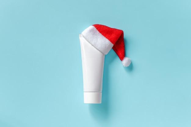 Tube blanc cosmétique et médical pour crème