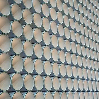 Tube en papier cylindre.