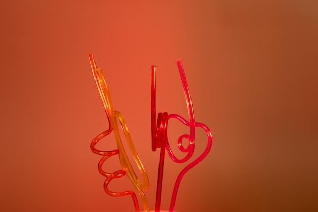 Tubules en plastique