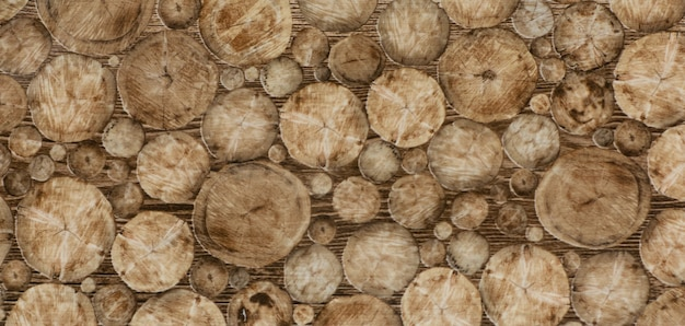 Tuile de cuisine de texture avec le vieux modèle en bois abstrait brun