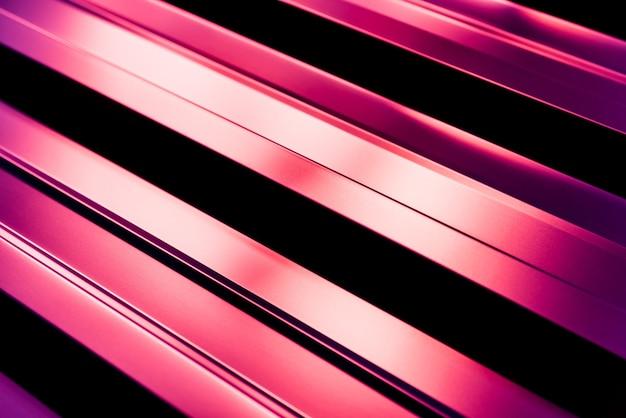 Tuiles métalliques violettes