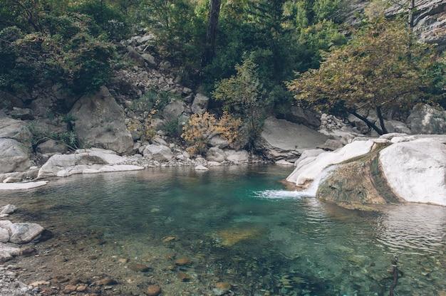 Turquie goynuk canyon écoulement de l'eau