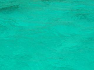 Turquoise fond de l'océan