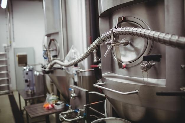 Tuyau sur les machines en brasserie