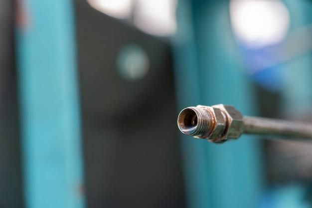 Tuyauterie contrôle pétrole et gaz