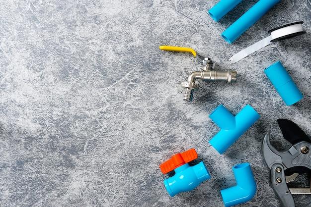 Tuyaux en plastique pour l'outil de coupe de tuyau de système d'eau robinet d'eau ruban d'étanchéité de filetage de tuyau