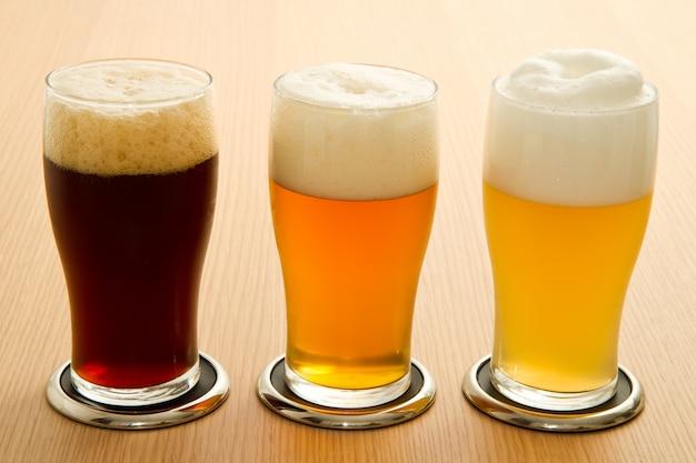 Type de bière différent