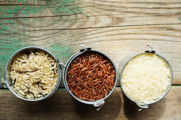 Types de riz