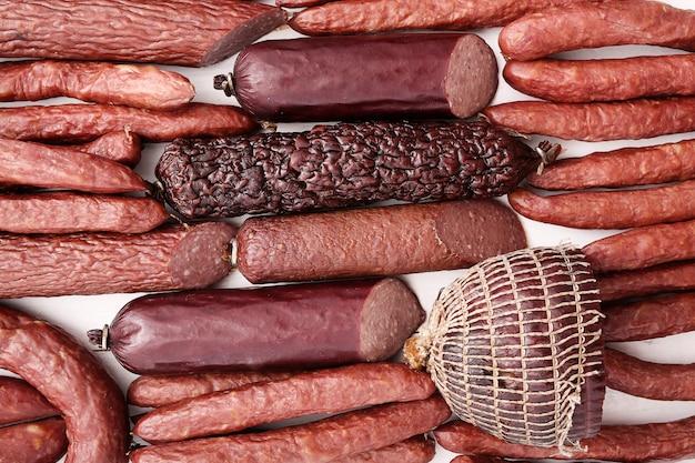 Types de saucisses