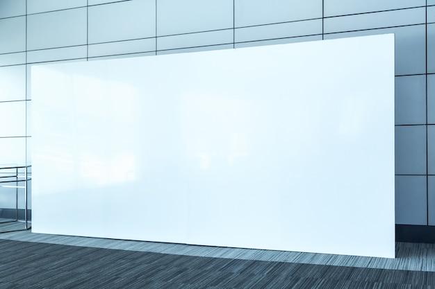 Unité de base en tissu pop up fond d'écran pour bannière publicitaire, fond vide