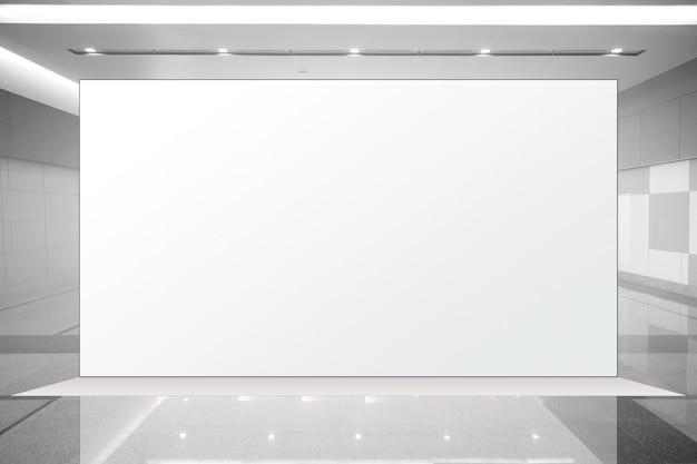 Unité de base en tissu pop up présentoir de bannière publicitaire, fond vide