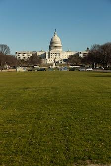 United states capitol hill dans l'après-midi à washington dc, usa.