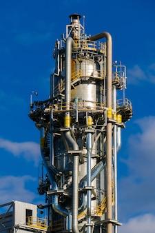 Unités de production d'acide nitrique dans une usine d'engrais