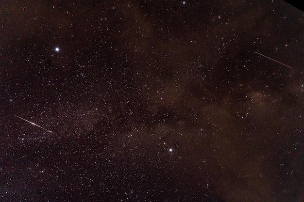 Univers rempli d'étoiles, nébuleuse et galaxie, utiliser