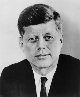 Usa états unis john kennedy président