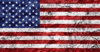 Usa flag grunge somadjinn