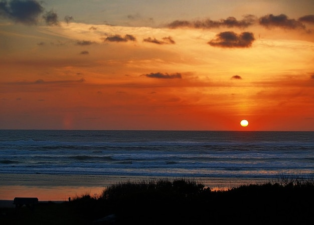 Usa rivage oregon sunset coast
