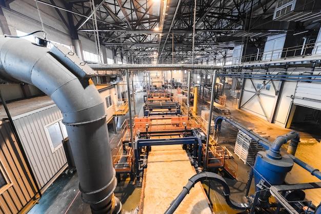 Usine de fabrication, machines pour l'industrie lourde