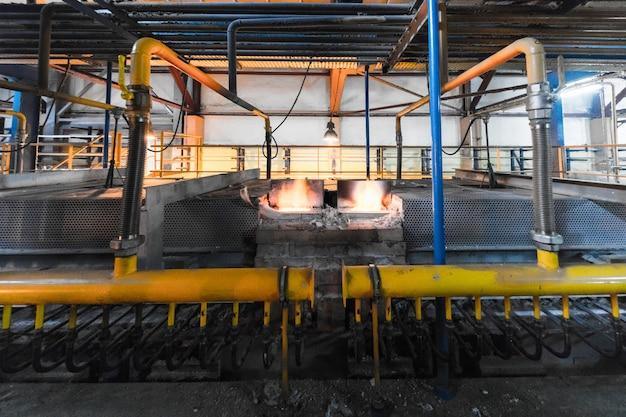 Usine de fabrication, production moderne de haute technologie