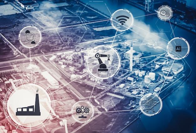 Usine intelligente pour la quatrième révolution industrielle