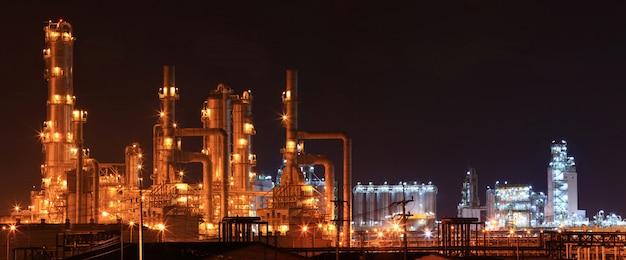 Usine de raffinerie
