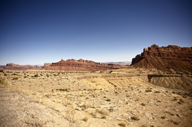 Utah desert and rocks
