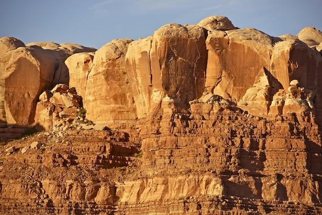 Utah red sandstones