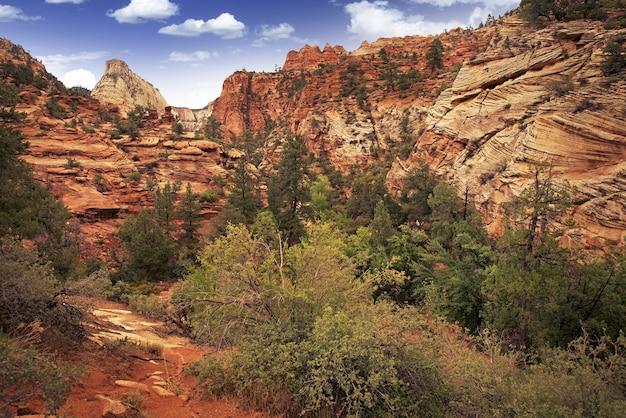 Utah zion landscape