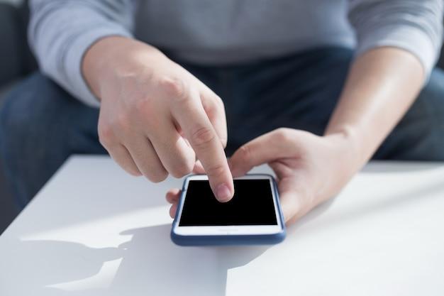Utilisation d'une connexion internet haute vitesse sur un téléphone cellulaire