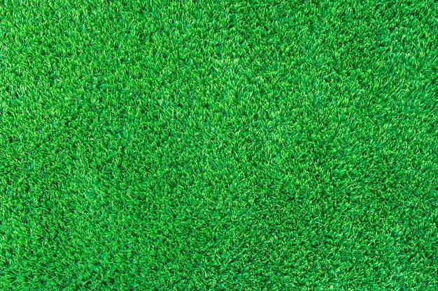 Utilisation de gazon artificiel décoration verte pour le fond du sport.