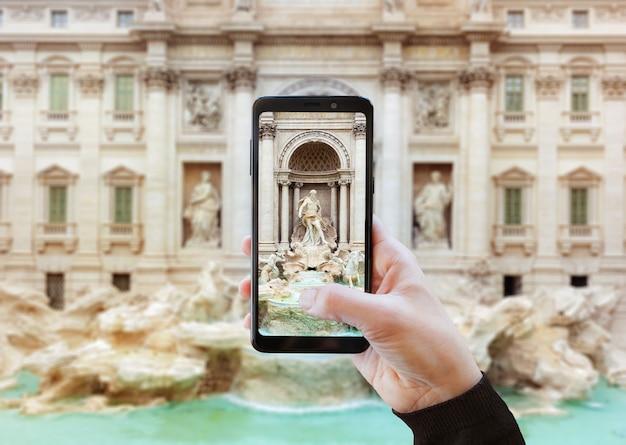 Utiliser l'appareil photo avec un téléphone portable.
