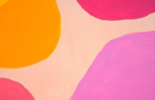 Uvre d'art minimaliste moderne nordique scandinave fait à la main fond de style abstrait art mural boho