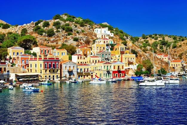 Vacances dans les belles îles grecques