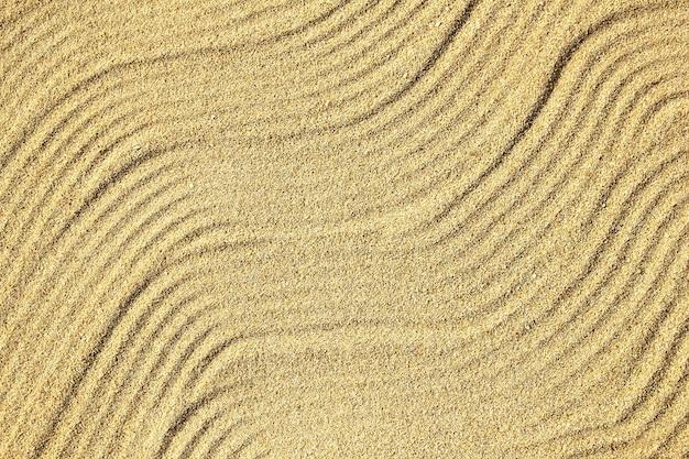 Vacances d'été de fond de mer de vagues de sable
