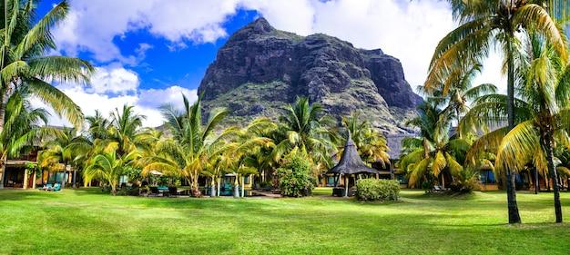 Vacances de luxe sur l'île mauriius
