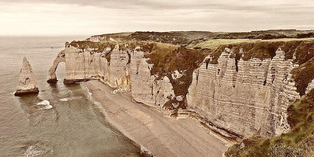 Vacances port maritime de voyage france normandie etretat