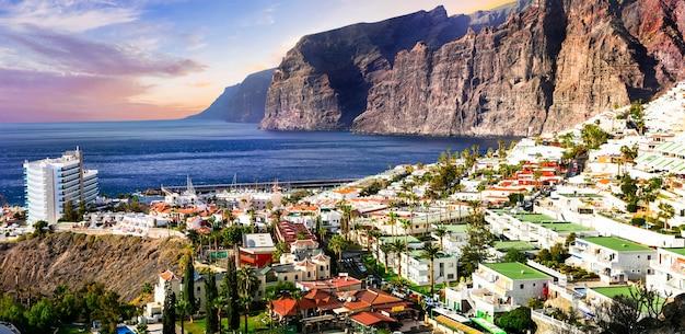 Vacances à tenerife - belle los gigantes. les îles canaries