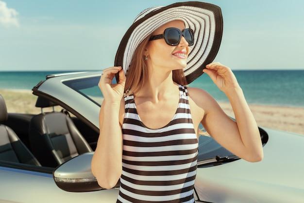 Vacances en voiture en été